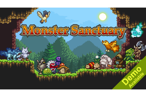 Monster Sanctuary - Monster Taming Metroidvania by Moi Rai ...