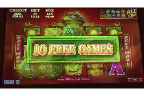 88 Fortunes Slot Machine 10 FREE GAMES BONUS - YouTube