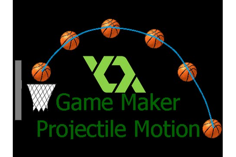 Game Maker Tutorial : Projectile Motion - YouTube