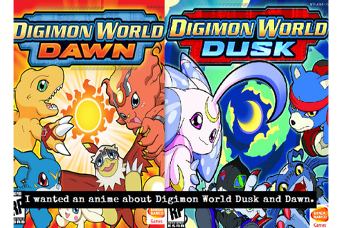 digimon world dawn and dusk | Tumblr