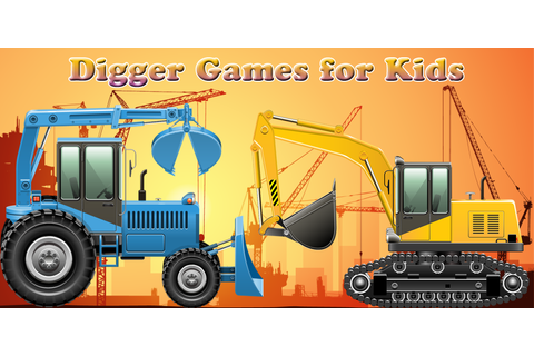 Amazon.com: Digger Games for Kids and Toddlers : discover ...