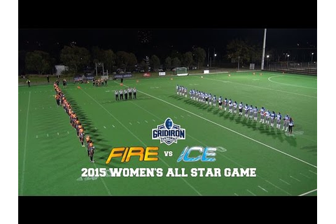 2015 GV Women's All Star Game: Fire vs Ice - YouTube