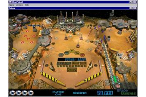 3-D Ultra Pinball (Windows) Game Download