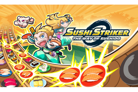 Sushi Striker: The Way of Sushido Announced for 3DS | Rice ...
