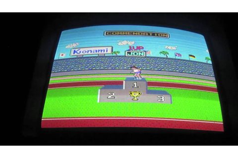 Hyper Sports Arcade Game Review - Konami 1984 - Hyper ...