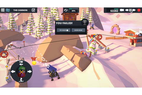Low-poly physics puzzler Carried Away renamed When Ski ...