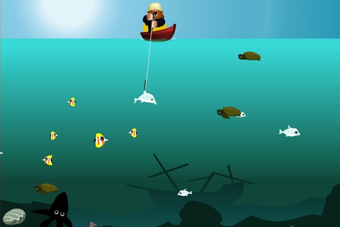 Mad Mack's Harpoon Lagoon Game - Fishing games - Games Loon