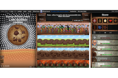 Cookie Clicker - Discuss Scratch