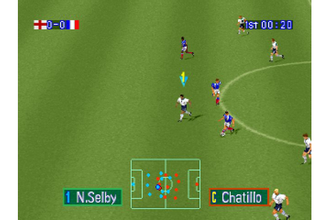 Goal Storm (1996) by Konami PS game