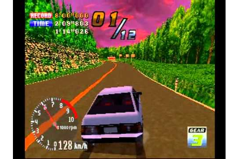 Touge Max, PS1 Racing Game - YouTube