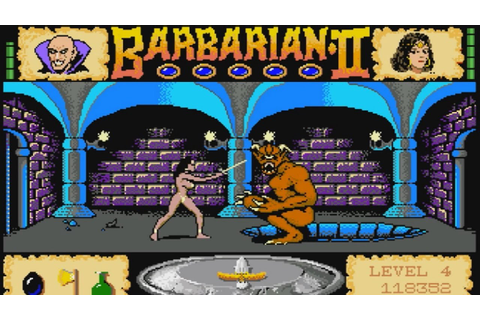Barbarian II: The Dungeon of Drax (Amiga 500) - YouTube
