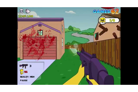Simpsons game online - Simpsons 3D Shootout - Play Free ...
