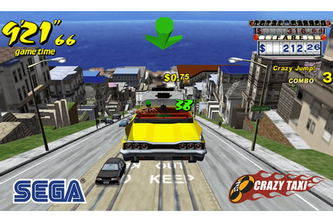 SEGA classic Crazy Taxi is now free to play on mobile