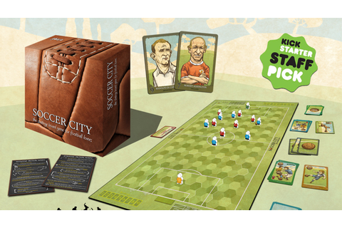 SOCCER CITY, the strategy board game for football lovers ...