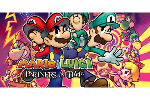 Mario & Luigi: Partners in Time | Nintendo DS | Games ...