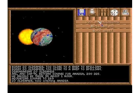 Spelljammer: Pirates of Realmspace, PC DOS (1992 ...