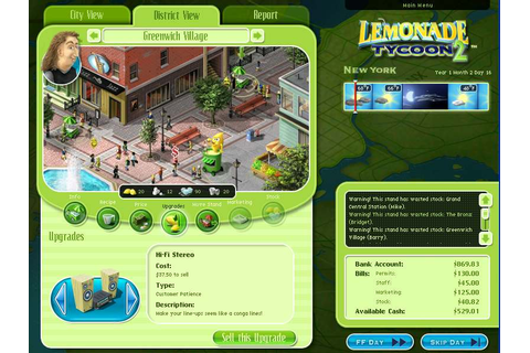 Lemonade Tycoon 2 New York Edition – Tips and Tricks ...