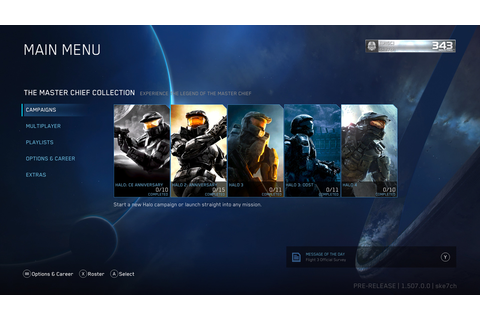 Halo: The Master Chief Collection Xbox One X & Enhancement ...