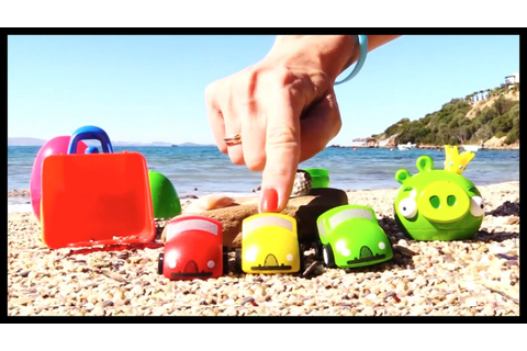 Angry Birds Pig & BRIO Toys Cars & Trucks: Summer Surprise ...