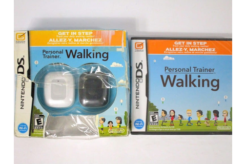Personal Trainer: Walking game for Nintendo DS (Complete ...