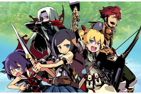 The Game Stop: Etrian Odyssey IV: Legends of the Titan ...