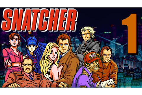 Let's Play Snatcher (Sega CD)! Episode 1 - YouTube