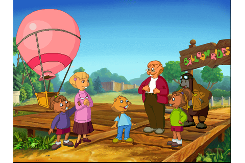 Скриншоты Gregory and the Hot Air Balloon на Old-Games.RU