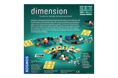 Challenge Your Brain w/ Dimension Puzzle Game by Thames ...