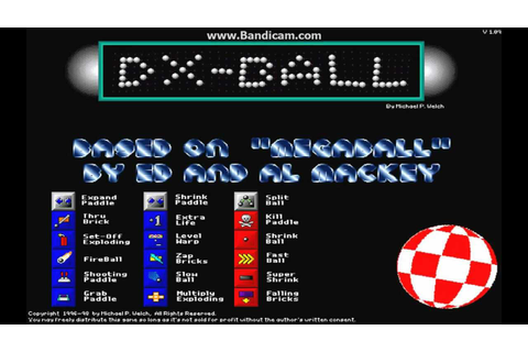 DX-ball gameplay - YouTube