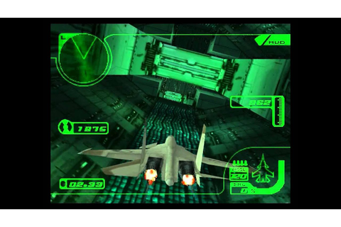 Ace Combat 3 Electrosphere: my favorite mission 'Tunnel ...