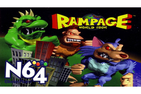 Rampage World Tour - Nintendo 64 Review - HD - YouTube