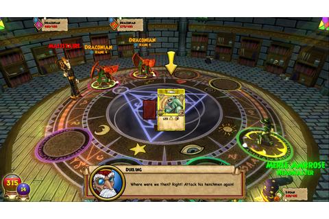 Wizard101 on Qwant Games
