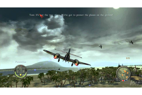 Blazing Angels: Squadrons of WWII PlayStation 3 Gameplay ...