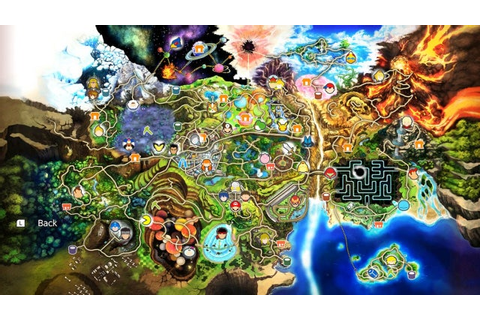 World of Light Character Unlocks And Map - Super Smash ...