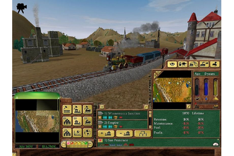 Download Railroad Tycoon 3 Full Version - LYZTA GAMES