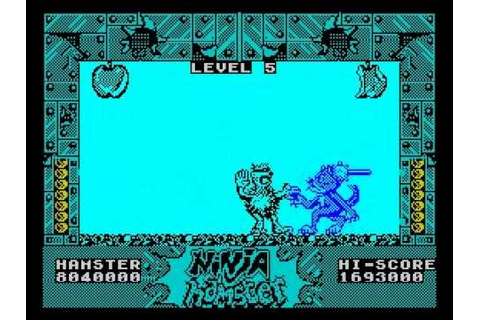 Ninja Hamster Walkthrough, ZX Spectrum - YouTube
