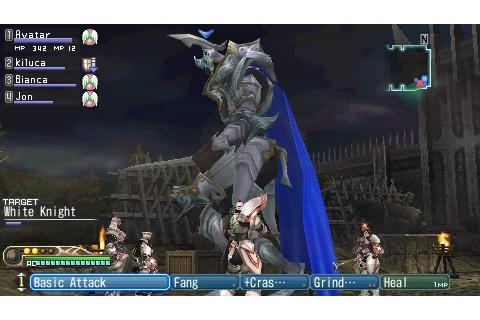 download White Knight Chronicles Origins psp game ...