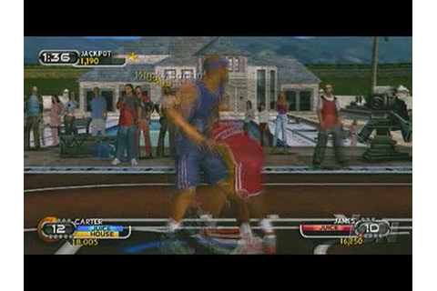 NBA Ballers: Rebound Sony PSP Gameplay - Selection Screens ...