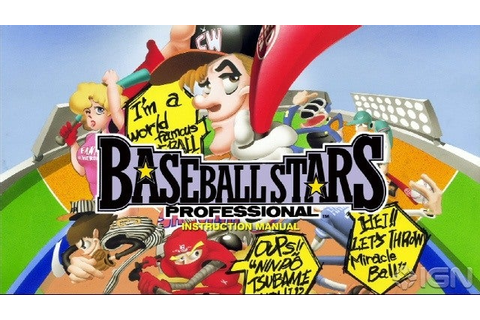 Baseball Stars Professional Screenshots, Pictures ...
