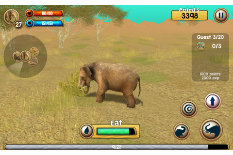 Wild Elephant Sim 3D - Android Apps on Google Play
