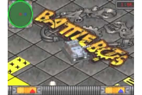 Game Boy Advance BattleBots Design & Destroy - YouTube