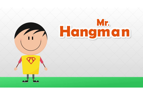 Mr. Hangman: Classic Word puzzle game. - YouTube