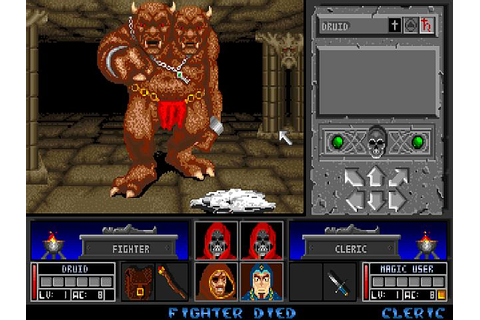 Indie Retro News: Black Crypt - A brilliant Amiga dungeon ...