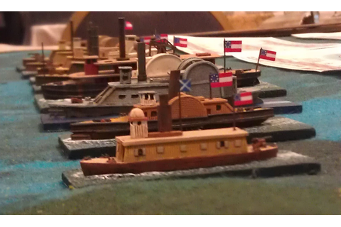 Operation: Wargaming!: First ACW Ironclad game.