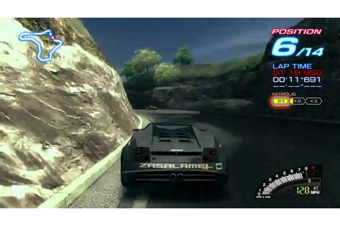 Ridge Racer 6 Gameplay for Microsoft Xbox 360 - YouTube