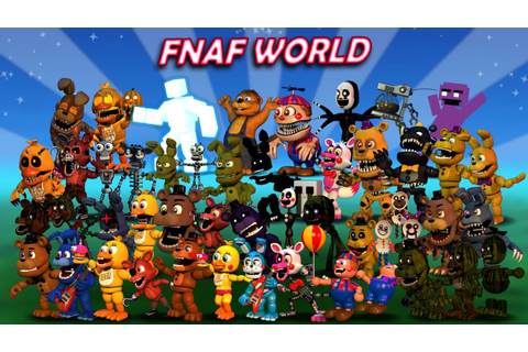 Play FNaF World online for FREE! - Top Games Center