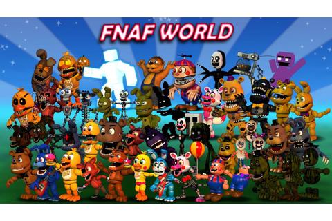 FNAF World on Qwant Games
