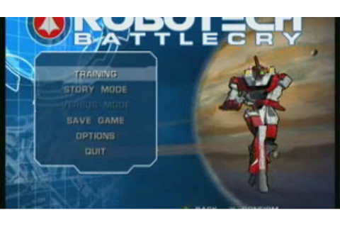Robotech: Battlecry Game | PS2 - PlayStation