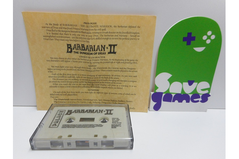 Barbarian II The Dungeon of Drax - Save Games