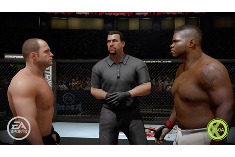 EA Sports MMA First Impressions - Fighting Against The ...
